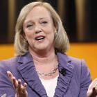 Hewlett-Packard revenue fall on strong dollar